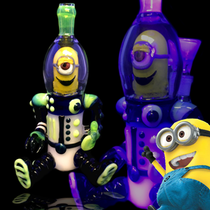 """Picture of 9"""" AMG Minion Water Pipe"""